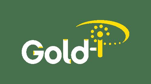 Gold-i Logo White Transparent 1800 X 1000